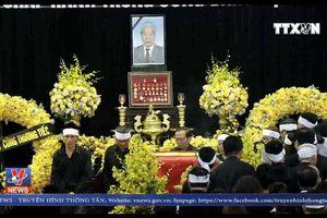 Lễ truy điệu nguyên Tổng Bí thư Đỗ Mười tại Hà Nội và TP.HCM