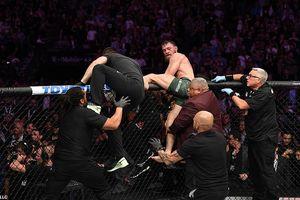 Video hỗn chiến sau trận siêu kinh điển Nurmagomedov vs McGregor