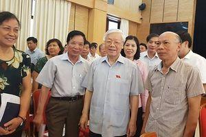 Cử tri Hà Nội phấn khởi, ủng hộ Tổng Bí thư Nguyễn Phú Trọng làm Chủ tịch nước