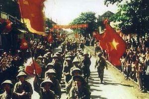 Sống lại khoảnh khắc hào hùng ngày giải phóng thủ đô 10-10-1954