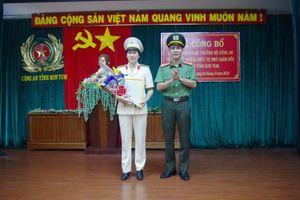 Công an tỉnh Kon Tum có tân nữ Phó Giám đốc