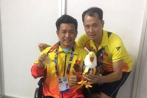 Nguyễn Thành Trung giành HCV tại Asian Para Games