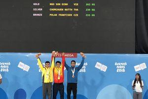 Ngô Sơn Đỉnh mang về chiếc HCV Olympic trẻ thế giới