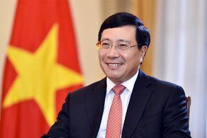 Phó Thủ tướng Phạm Bình Minh thăm chính thức Anh, dự HNCC Pháp ngữ