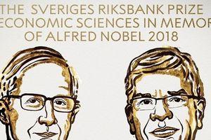 Hai người Mỹ đã nhận giải Nobel Kinh tế về tăng trưởng bền vững