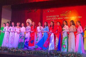 17 thí sinh lọt chung kết 'Hoa khôi Sinh viên' Nghệ An 2018