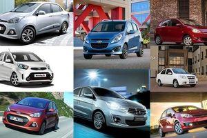 Đua 'tất tay' cuối năm, 12 mẫu xe giá rẻ hạ xuống dưới 400 triệu đồng
