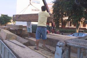 Bắt xe tải chở gỗ lậu trong đêm