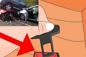 Chốt giả dây an toàn trên ô tô như đánh cược tính mạng với tử thần