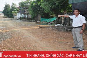 Trưởng thôn gương mẫu, xóm đạo ven đô Hà Tĩnh hiến gần 5.000 m2 đất