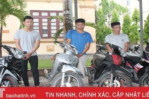 'Chôm' 7 xe máy, 'trả'... 100 tháng tù!