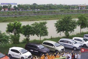 Tam mã Toyota về Tràng An 'chạm' vùng ''Bích sơn bát cảnh''