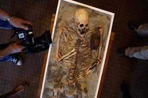 Phát hiện 'ngôi mộ ma cà rồng' ở Bulgaria