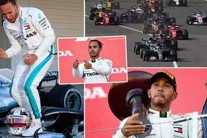 Va chạm với Vettel, Verstappen vô tình giúp Hamilton chạm một tay vào ngôi vương F1 2018