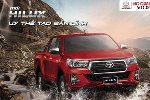 Toyota Hilux 2018 cải tiến toàn diện để tăng sức cạnh tranh