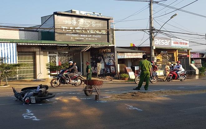 Triệu tập tài xế ô tô gây tai nạn làm Trung úy quân đội tử vong tại chỗ rồi bỏ trốn ở Đắk Lắk