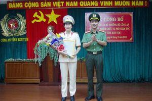 Chân dung tân nữ Phó giám đốc Công an tỉnh Kon Tum
