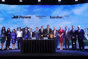 MB hợp tác chiến lược với Bordier & Cie Singapore
