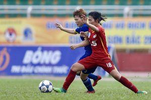 Chiều ngày 9-10, kết thúc lượt về Giải bóng đá nữ VĐQG
