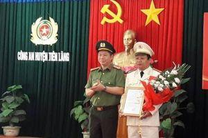 Hải Phòng: Bổ nhiệm 2 Trưởng công an huyện