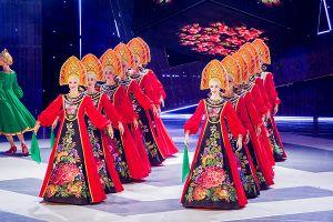 Nghệ sĩ Nhà hát Múa quốc gia Matxcova biểu diễn ở Hà Nội