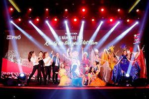 Săn vé ca nhạc 'Café PHỐ, khuấy lên tình yêu Việt Nam'