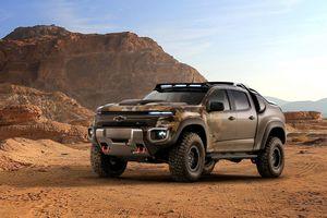 Chevrolet Colorado ZH2 - bán tải chiến xa của quân đội Mỹ