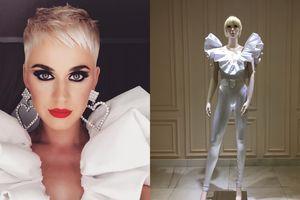 Katy Perry diện trang phục của nhà thiết kế Nguyễn Công Trí