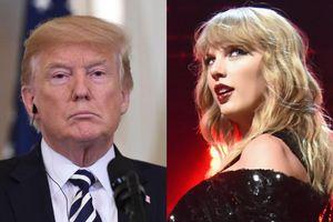 Tổng thống Donald Trump khó chịu vì Taylor Swift ủng hộ đảng Dân chủ