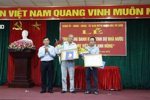 Truy tặng danh hiệu 'Bà mẹ Việt Nam Anh hùng' tại Bắc Từ Liêm