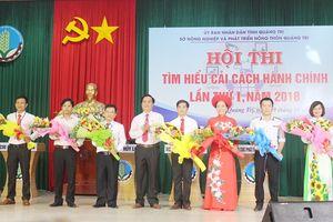 Sở NN-PTNT Quảng Trị thi tìm hiểu cải cách hành chính