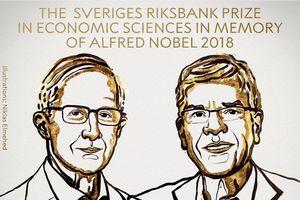 Nobel Kinh tế 2018 vinh danh 2 nhà kinh tế học người Mỹ