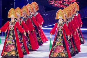 Đoàn nghệ sĩ Nhà hát múa Hàn lâm quốc gia Moscow 'Gzhel' biểu diễn tại Việt Nam