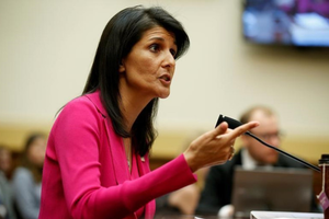 Đại sứ Mỹ tại Liên hợp quốc Nikki Haley từ chức