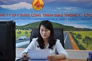 Vợ phó Chủ tịch Nghệ An bất ngờ bỏ ghế sếp lớn Cienco 4