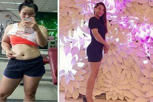Bí quyết giảm 12kg trong 3 tháng của cô gái sài thành này sẽ khiến các mom nể phục
