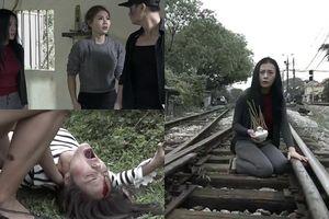 'Quỳnh Búp Bê' tập 15: Quỳnh hóa điên dại vì mất con, nghe tin Cảnh bị tàu đâm chết