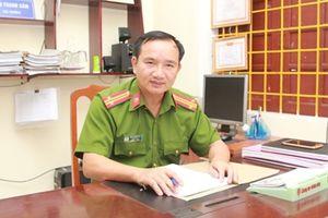 Người góp phần làm nên 'thương hiệu' Cảnh sát điều tra tội phạm ma túy thành Vinh