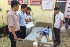 Xác định nguyên nhân khiến 300 học sinh bị ngộ độc ở Ninh Bình