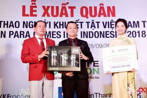 54 vận động viên Việt Nam tham dự Asian Para Games 2018 tại Indonesia