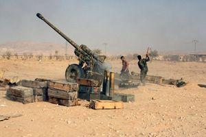 Chiến sự Syria: Quân chính phủ điều động lính nhảy dù xuống vùng hoang mạc Al-Safa