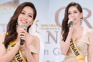 Phương Nga hát ca khúc xúc động này về Việt Nam khiến dàn thí sinh Miss Grand International 'lặng người'