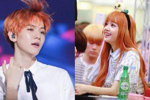 Chẳng cần đến Halloween, các idol này sẽ khiến bạn muốn nhuộm tóc cam bí ngô ngay