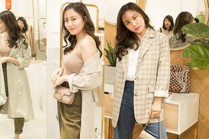 Văn Mai Hương lấy lại phong độ, sành điệu đúng trend với gu thời trang đậm chất Hàn