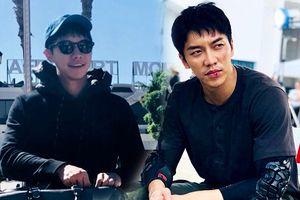 Lee Seung Gi 'bầm dập' trong những hình ảnh đầu tiên trên phim trường 'Vagabond' cùng Suzy