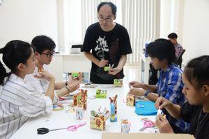 Trải nghiệm văn hóa Nhật Bản tại Ngày hội vì trẻ em ảnh hưởng tai nạn giao thông