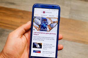 Smartphone Việt màn hình tràn viền giá chưa tới 3 triệu đồng