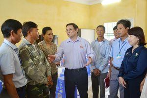 Đại biểu Quốc hội tỉnh Phạm Minh Chính tiếp xúc cử tri TP Móng Cái