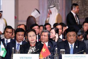 Chủ tịch Quốc hội dự Lễ khai mạc Hội nghị Chủ tịch Quốc hội Á - Âu lần thứ 3