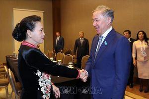 Chủ tịch Quốc hội Nguyễn Thị Kim Ngân hội kiến Chủ tịch Hạ viện Cộng hòa Kazakhstan